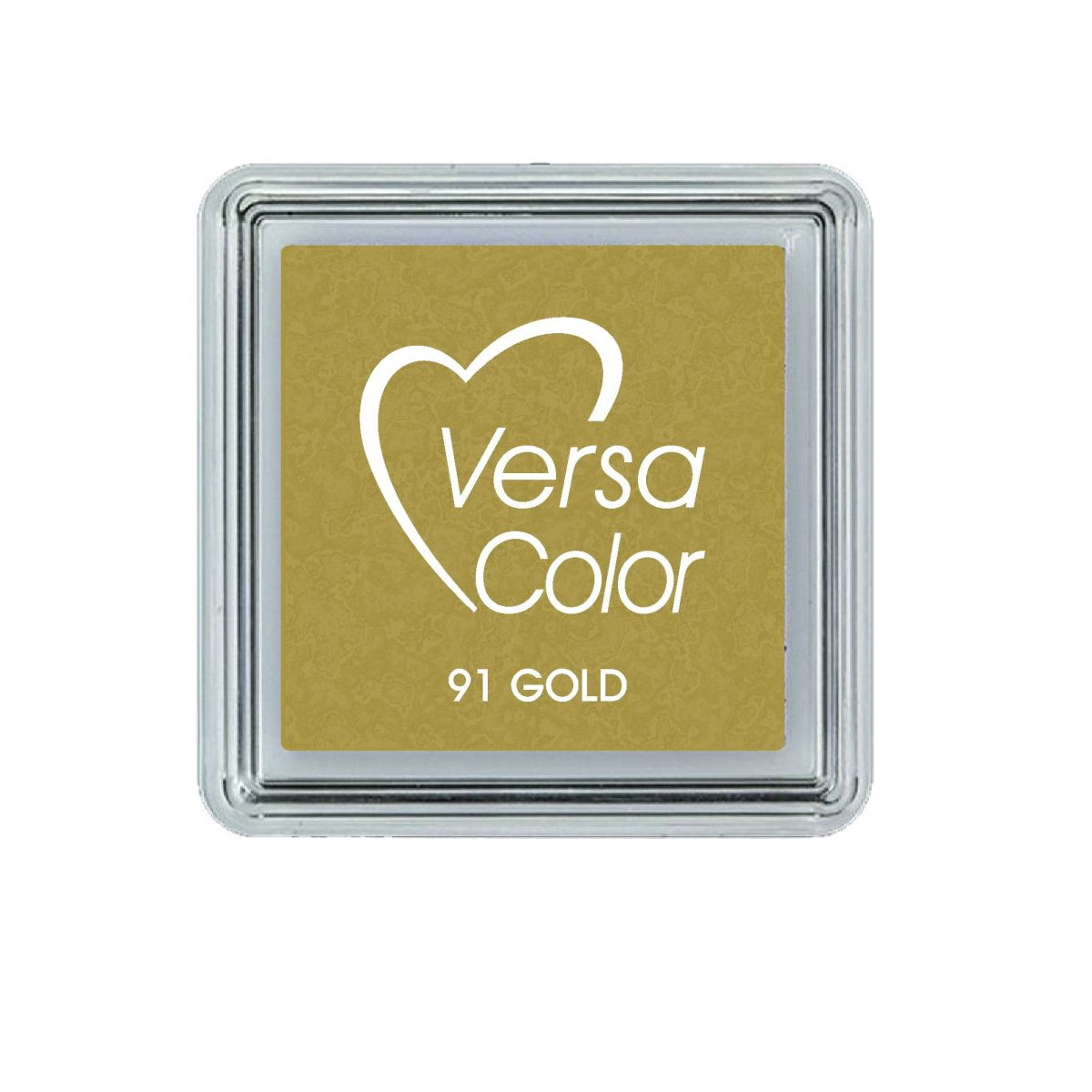 Gold Tsukineko Versacolor small metallic ink pad