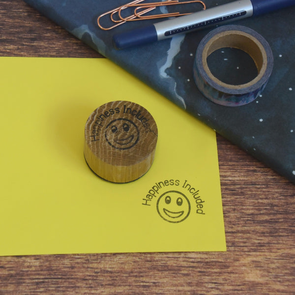 Happiness Included Stamp