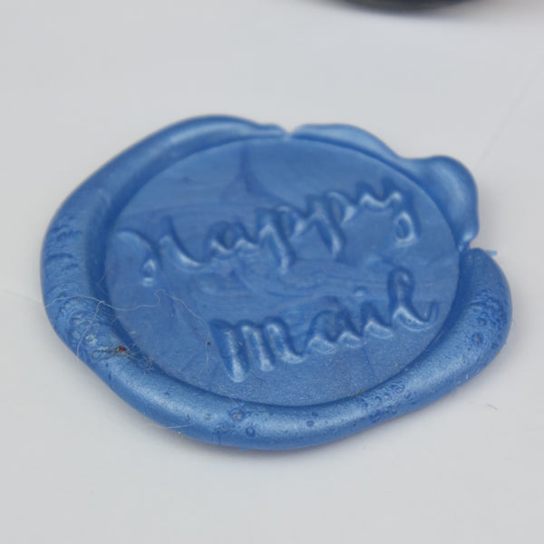 Happy Mail Wax Seal Stamp