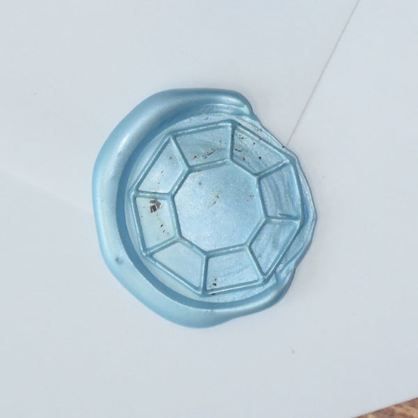 Octagon Gem Wax Seal Stamp
