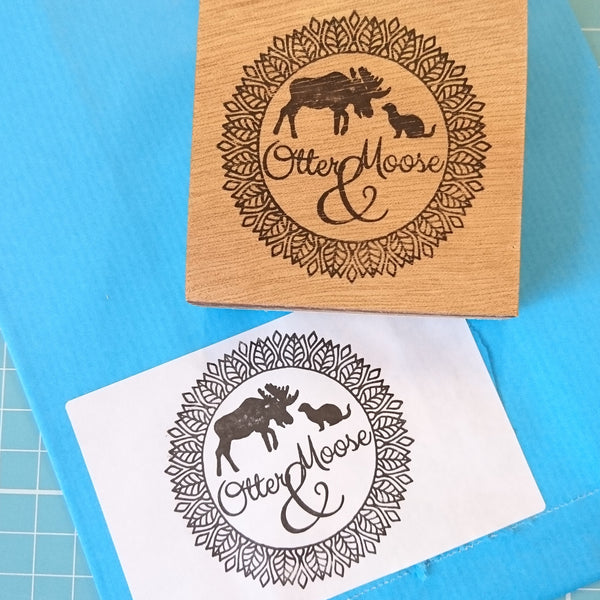 Personalised Logo Rubber Stamp - Your Artwork