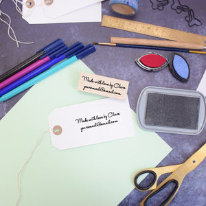 Personalised Card Maker Stamp