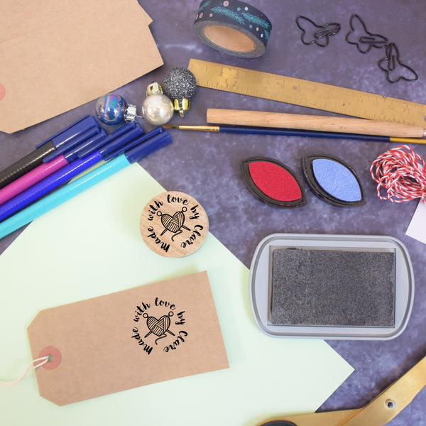 Personalised Maker Rubber Stamp