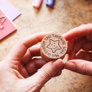Personalised Teacher Reward Rubber Stamp