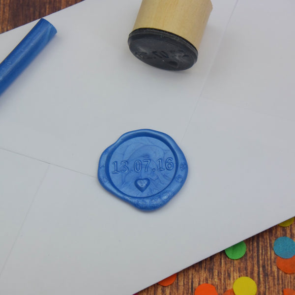 Personalised Date Wax Seal Stamp