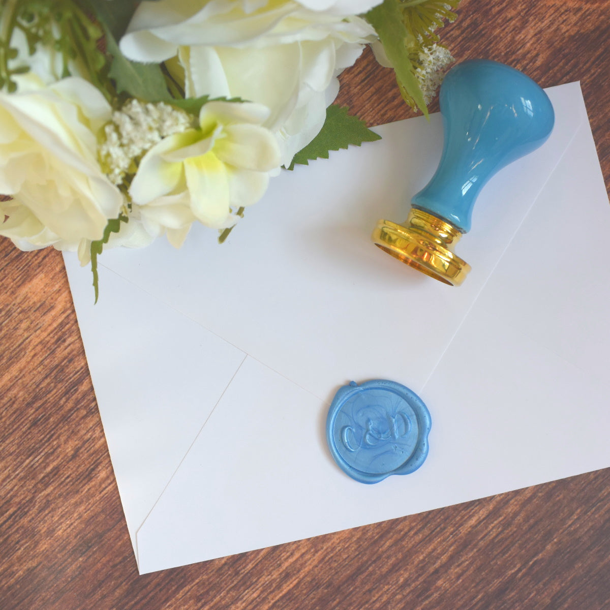 Ceramic Handle Upgrade for Personalised Wax Seal Stamp