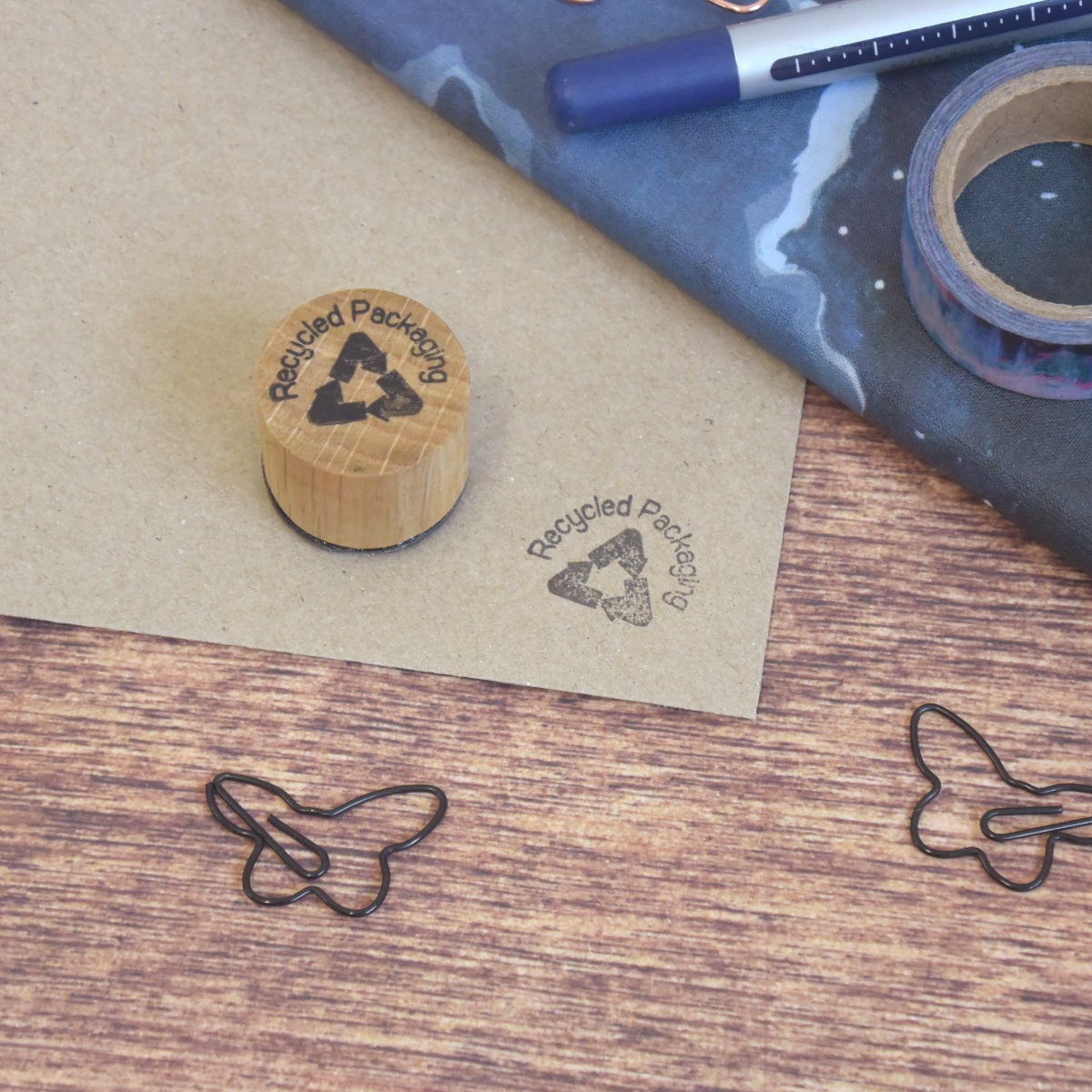 Recycled Packaging Mini Stamp