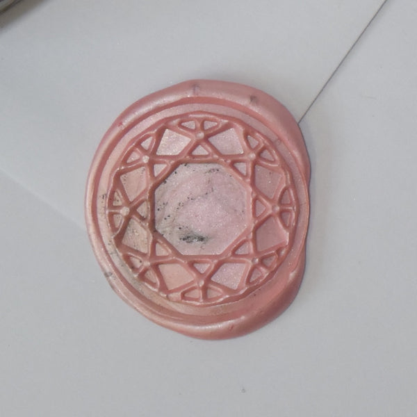 Round Gem Wax Seal Stamp