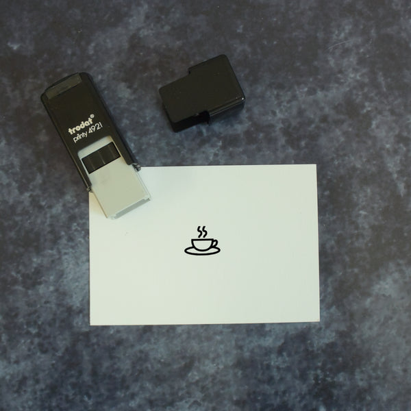 Self Inking Loyalty Stamp - Choose your symbol