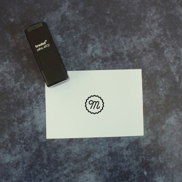 Personalised Self Inking Loyalty Stamp - Your Design