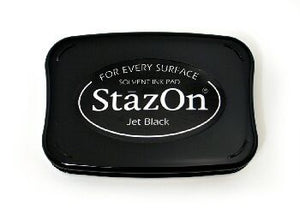 StazOn Jet Black large ink pad