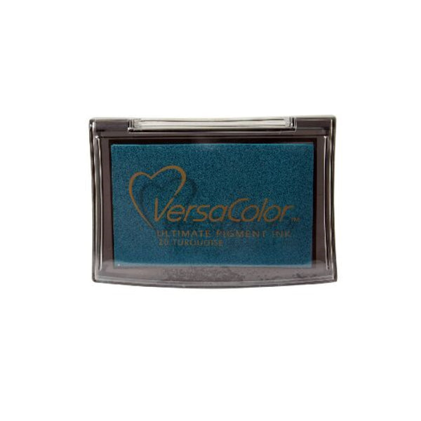 Turquoise Versacolor large ink pad