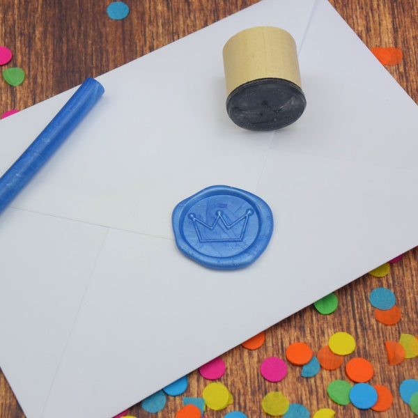 Crown Wax Seal Stamp