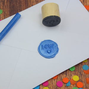 Love Heart Wax Seal Stamp