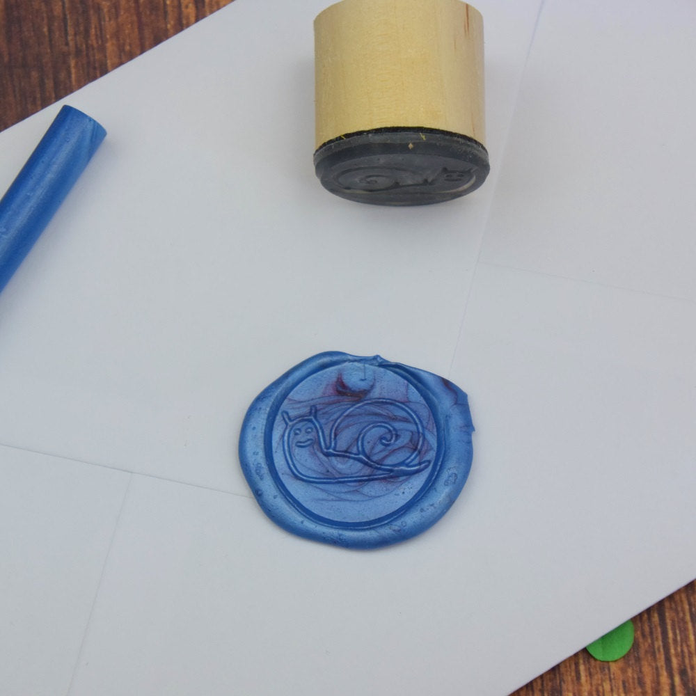 Snail Wax Seal Stamp