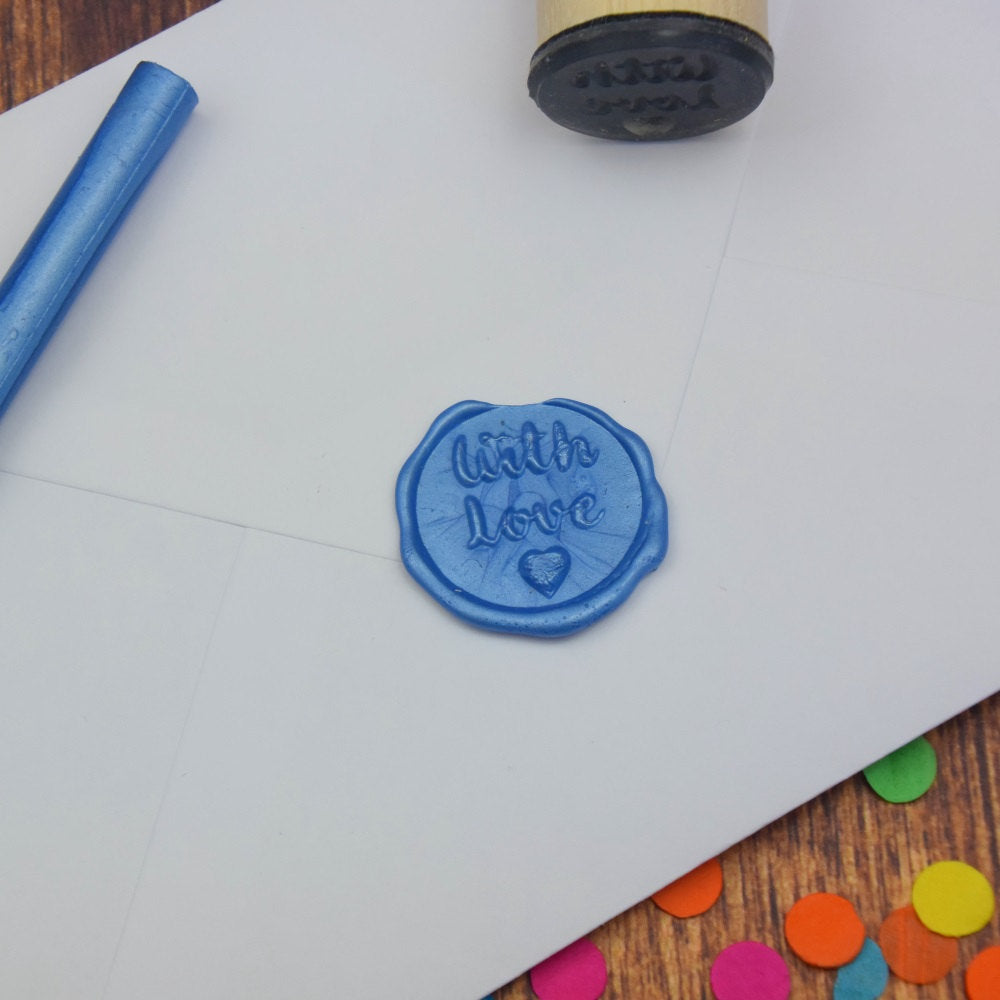 Z- With Love Wax Seal Stamp