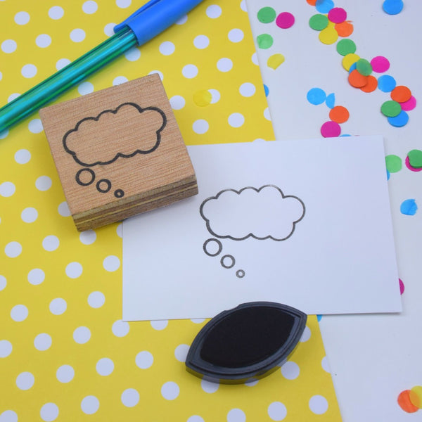 Thought Bubble Planner Stamp