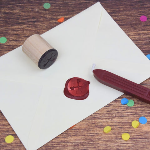 Crossed Keys Wax Seal Stamp