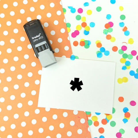 Tiny Asterix Self Inking Teacher Reward Stamp