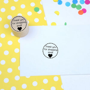 Thank you for shopping small Mini Rubber Stamp