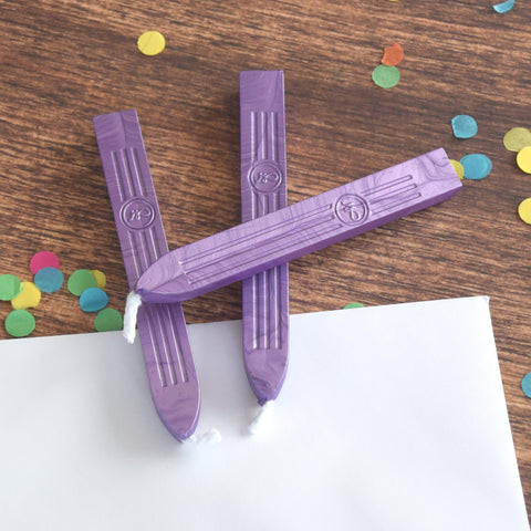 Lilac Traditional Sealing Wax with Wick