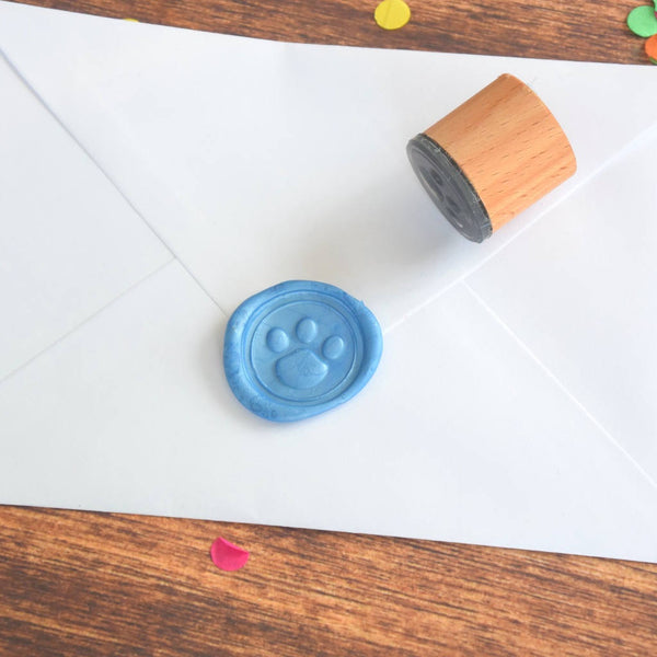 Paw Print Wax Seal Stamp