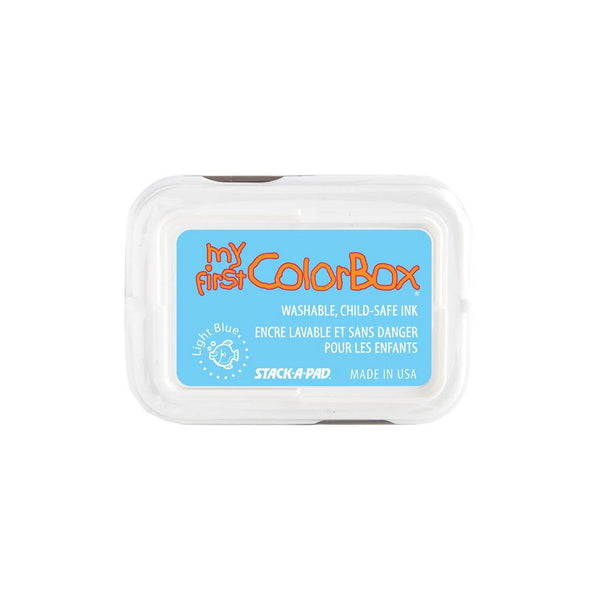 Light Blue My First Colorbox child safe ink pad