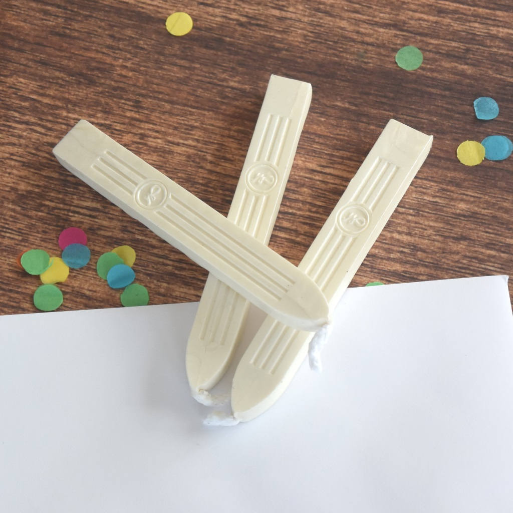 Pearl White Sealing Wax - traditional sealing wax