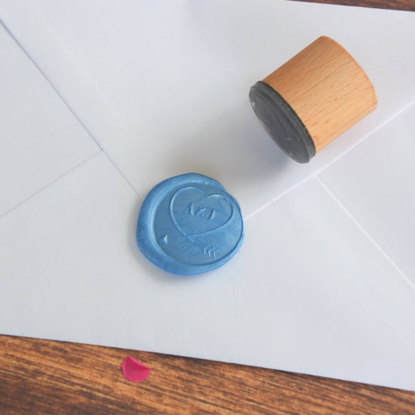 Personalised Heart Loop Monogram Wax Seal Stamp