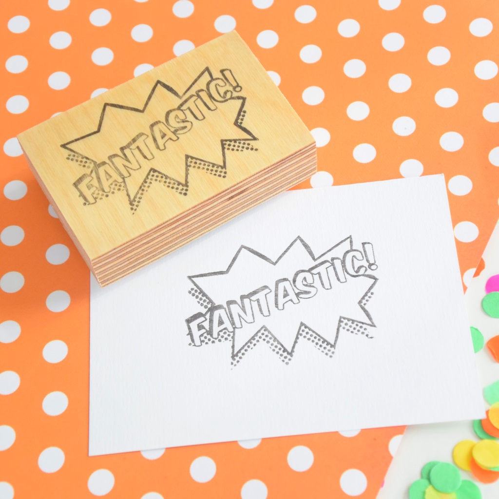 Fantastic! Teacher Rubber Stamp