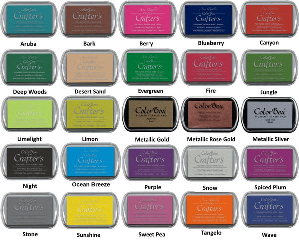 Stone Colorbox Crafter's full size ink pad