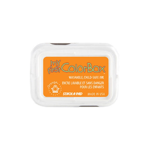 Orange My First Colorbox child safe ink pad