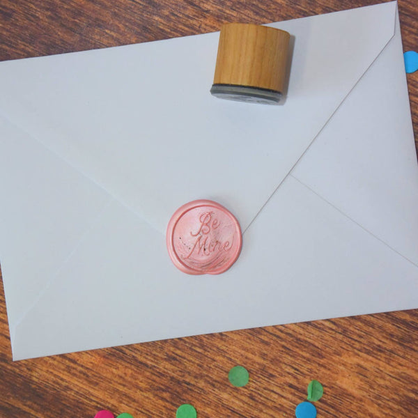 Be Mine Wax Seal Stamp