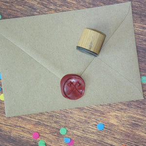 Crossed Axes Wax Seal Stamp