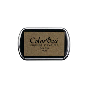 Gold Colorbox full size ink pad