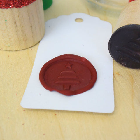 Christmas Tree Wax Seal Stamp