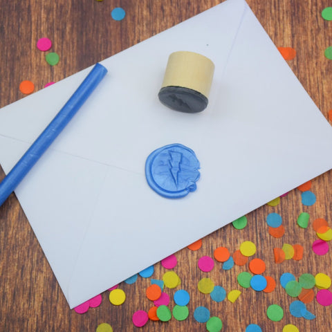 Lightning Bolt Wax Seal Stamp