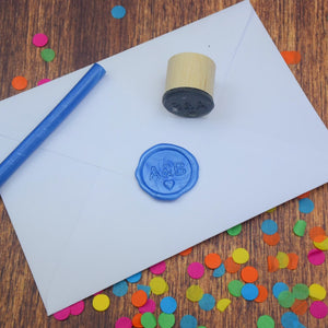 Personalised Monogram Wax Seal Stamp - Sans Serif