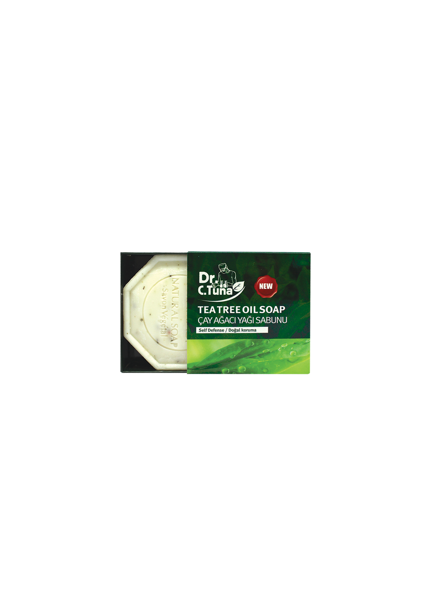DR. C. Tuna Tea Tree Oil Soap (100 g)
