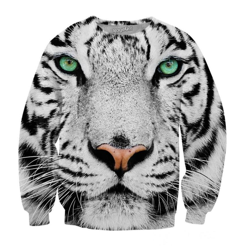 White Tiger Crewneck