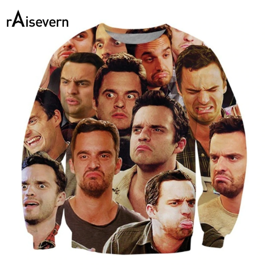 Nick Miller Mood Crewneck