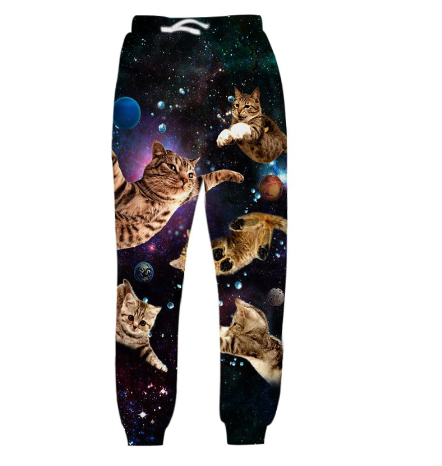 Space Cats Joggers