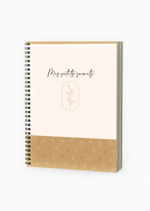 Mes petits secrets - Grand carnet de notes & d'esquisses