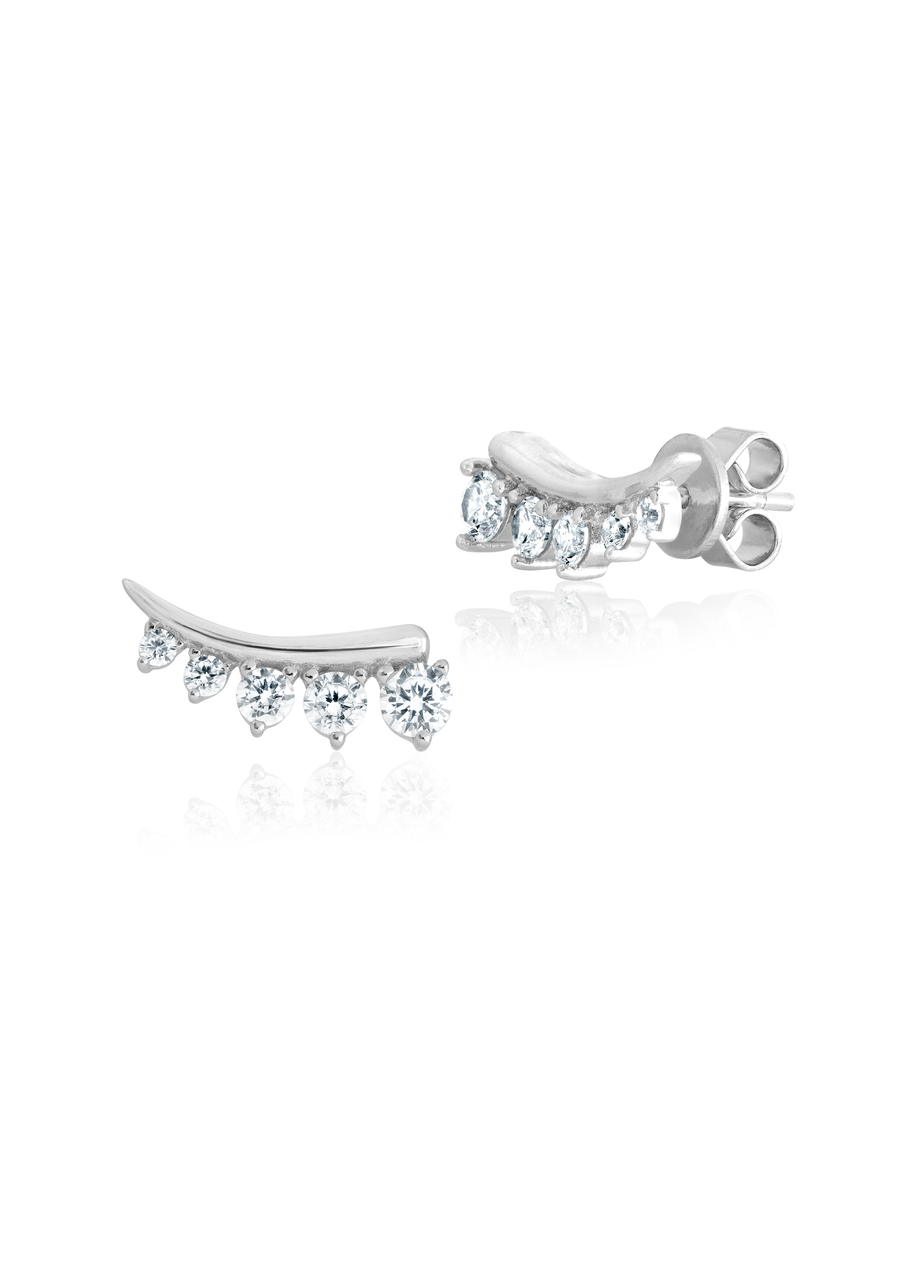 Cascading Crawler Earrings
