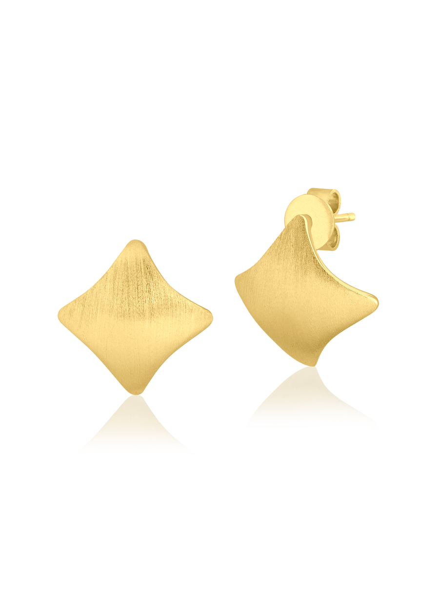 Goldleaf Posts Earrings
