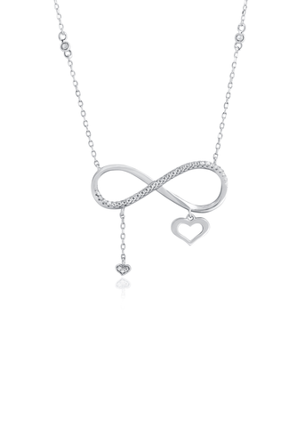 Classic infinity necklace