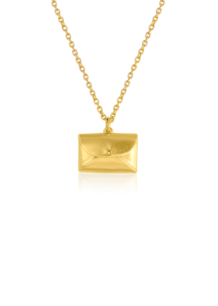 Gold Purse Necklace