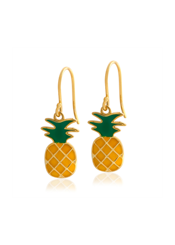 Pineapple Drop Earring