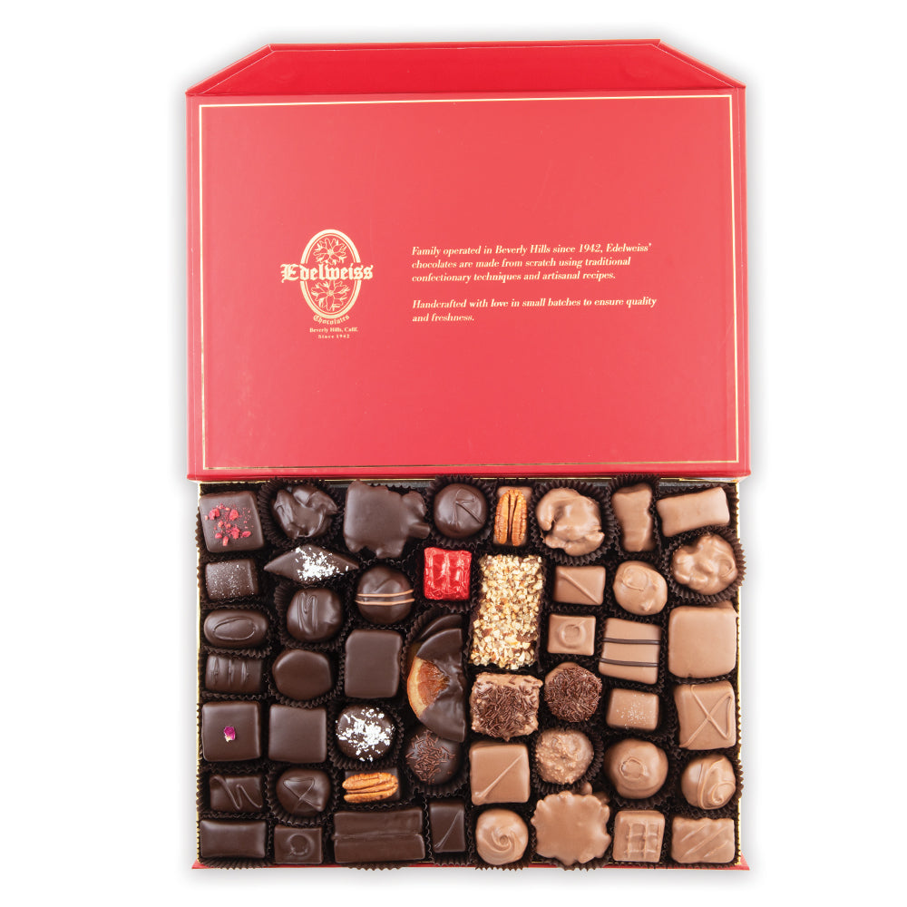 Assorted Chocolates - 2 lbs Gourmet Chocolates handmade in Beverly Hills and Los Angeles. We only sell Premium Chocolates.