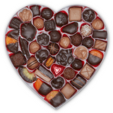 Red Velvet Heart Box (2lb) - Edelweiss Chocolates